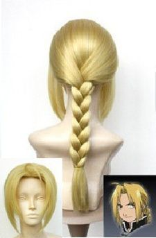 Hot Sell! Japan Animation Art Fullmetal Alchemist Edward Elric's Cosplay Wig 11 - $1.80