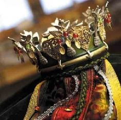 Bridal Crown from Telemark, Norway - made by Arnt Darrud - From THE ESSENCE OF THE GOOD LIFE™