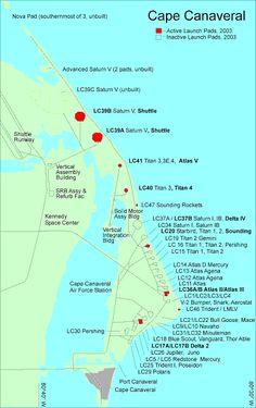 Launch complexes at Cape Canaveral Air Force Station - List of Cape Canaveral and Merritt Island launch sites - Wikipedia, the free encyclopedia