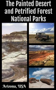 Arizona's Painted Desert and Petrified Forest National Parks- The Daily Adventures of Me