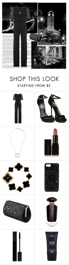 """Evening event"" by oksana-kolesnyk ❤ liked on Polyvore featuring Diane Von Furstenberg, Gucci, CZ by Kenneth Jay Lane, Illamasqua, Van Cleef & Arpels, Felony Case, Victoria's Secret and Dolce&Gabbana"