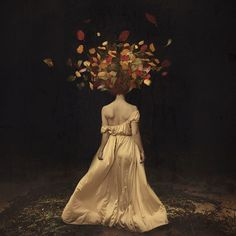 Mind-blowing ~ Brooke Shaden Photography | Watch this documentary on her: http://www.lynda.com/Photography-Masking-Compositing-tutorials/Brooke-Shadens-Conceptual-Photography-Start-Finish/140846-2.html?utm_source=pinterest.com