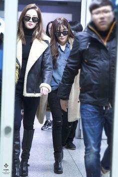 Tiffany and Seohyun