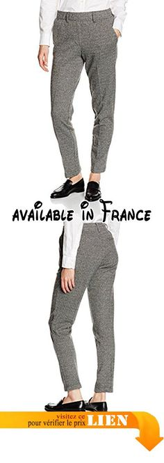 097eo1b017, Pantalon Femme, Gris (Dark Grey 020), 36Esprit