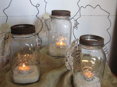 Wedding Jar Lanterns