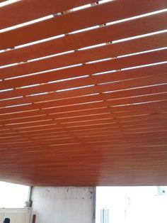 Deck de WPC para plafón, libre de mantenimiento!