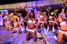 @Washington Redskins Cheerleaders at the 2014 @Cathy Rogers Pacific Airways  International #ChineseNewYear Night Parade