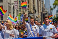 New York Officials joined the celebrations and marched along at the Gay Pride Parade 2016