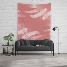 Member deal: 25% OFF everything today! Our lightweight Wall Tapestries feature vivid colors and crisp lines, giving you an awesome centerpiece for any space. Our tapestries aren't just wall hangings either - they're durable enough to use as tablecloths or picnic blankets. Tip: try searching for mandalas, florals, black, pink or any of your favorite colors or styles. Palm leaves on cinnamon rose Wall Tapestry #homedecor #walldecor #wallhanging #rose #palm