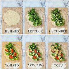 Healthy Meal Prep, Healthy Snacks, Healthy Eating, Healthy Foods To Eat, Vegan Meal Plans, Breakfast Healthy, Dinner Healthy, Plats Healthy, Vegetarian Recipes