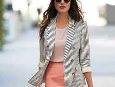 Fashionable Work Outfit Ideas For Women To Looks More Elegant - Fashions Nowadays Spring Outfits Women, Fall Outfits For Work, Casual Winter Outfits, Cute Office Outfits, Funky Outfits, Work Fashion, Fashion Outfits, Women's Fashion, Olive Skinny Jeans