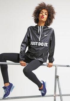 Nike Sportswear - CITY - Chaqueta fina - black/white