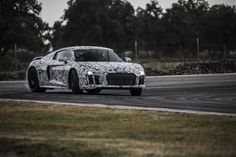 Second Gen Audi R8 V10 Plus Prototype - Provided by MotorTrend