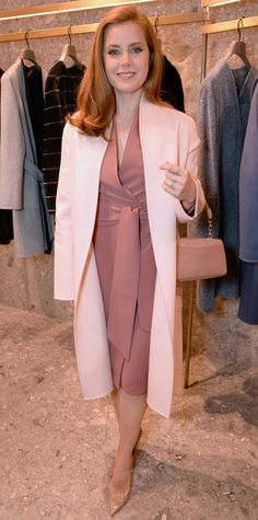 Amy Adams in Max Mara.