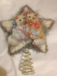 Savannah Cat, Cat Christmas Tree Topper, Holiday Decoration ...