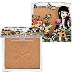 tokidoki Inferno Bronzer (i don't use bronzer but this one's tokidoki so it had to be repinned)