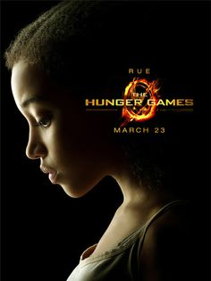 The Hunger Games Official Character Posters - RUE.... one of my favorite characters!
