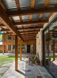 exposed metal roof overhang - Google Search