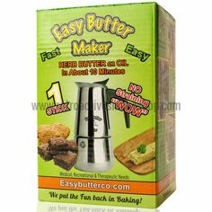 The newest and most affordable Enhanced Butter Machine Ever! Get yours for 49.95! Easy Butter 1 Stick Magic Herbal Butter Maker #THC #Butter #Food