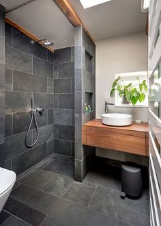 Contemporary Bathroom by Conscious Design #ContemporaryBathrooms