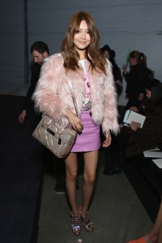 18 Reasons You Need a Faux Fur Coat This Winter Mac, Dior Dress, Perfect Together, Hollywood, 1 Girl, Teen Vogue, Fur Fashion, Sooyoung, Celebs