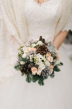 Зимний букет #winter #flower #okwedding