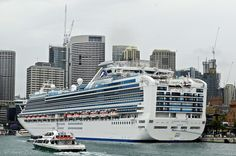Diamond Princess at the OPT, Sydney - 22 October 2015 Diamond Princess, Princess Cruises, Cruise Ships, Sydney, Times Square, October, Ocean, Travel, Viajes