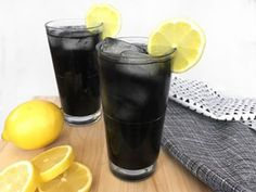 Very Powerful Black Lemonade Recipe For Cleansing And Body Detox But You Must Be Very Careful When Consuming It - Happy and Healthy Living Jus Detox, Body Detox, Body Cleanse, Liver Detox, Cleanse Detox, Advocare Cleanse, Lemon Cleanse, Colon Detox, Halloween Drinks