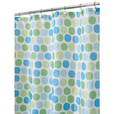 InterDesign Rialto Shower Curtain, Blue and Green, 72-Inch by 72-Inch by InterDesign, http://www.amazon.com/dp/B006J23HNU/ref=cm_sw_r_pi_dp_6UZosb1DESH2M