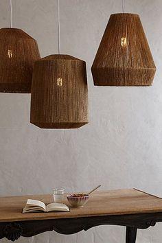 woven lamp shades