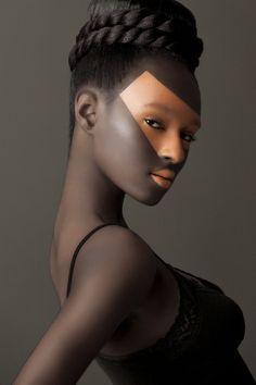 Tepi 2 by Vic Chandrasma, via 500px  #photography #portrait #beauty #girl #makeup #fashion #hair
