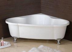 Lowe's Bathtubs Freestanding | Corner Clawfoot – $900.00 (+$450 shipping)