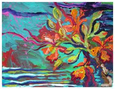 ABSTRACT EXPRESSIONISM PAINTING Prints - Official website for Shannon McIntyre, Artist, Professional Surfer, On Surfari and Family Adventure TV show host and producer. Purchase prints, art, order original paintings and learn about Shannon's latest adventures and creative projects.
