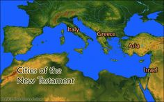 Cities of the New Testament