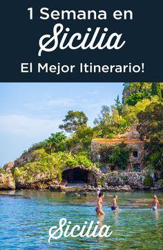 Itinerario una semana en Sicilia