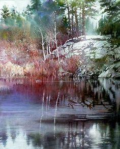 Island Lake by Nita Engle