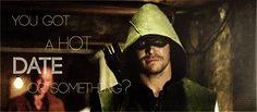 I just love Oliver's smirk. #olicityotp