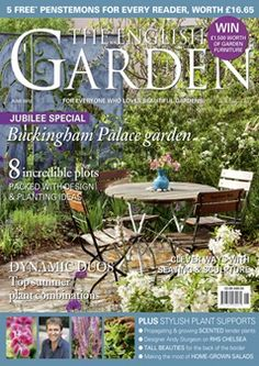 The English Garden is built around high-quality coverage of beautiful gardens, whether in town or country, whether classic or contemporary English design. Organic Plants, Organic Gardening, Garden Furniture, Outdoor Furniture Sets, Outdoor Decor, Buckingham Palace Gardens, British Garden, Gardening Magazines, Plant Supports