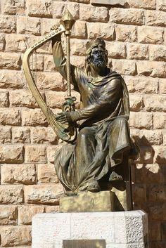 King David in Jerusalem, ISRAEL