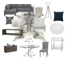 """""""Nautical Chic"""" by jennifer-266 on Polyvore featuring interior, interiors, interior design, home, home decor and interior decorating"""