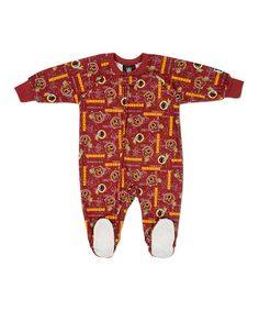 Take a look at this Red Washington Redskins Footie - Toddler by NFL on #zulily today!