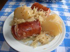 Polish Sausage, Sauerkraut and Potatoes