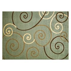 Rugs at Kohl's - Shop our full selection of rugs, including this Merinos Talya Scroll Rug , at Kohl's. Scroll Pattern, Getting Organized, Rug Size, Area Rugs, Texture, Design, 6 Inches, Home Decor, Color Blue