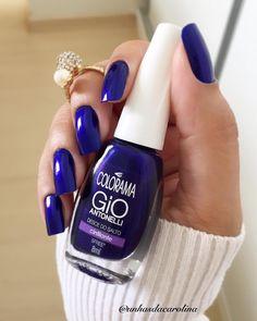 Pensa em um esmalte Maravilhoso!!!!! É esse lindo Desce do Solto da @esmaltecolorama ! Lindo!!!!!! #unhas #unhasdasemana #unhasdacarolina #colorama #gioantonelli #amoesmaltes