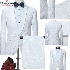 Shawl Collar Jacquard Blazer with Pants Suit Freeshipping&Low To $60.15 Shop Now<< http://tinyurl.com/ycg5oxew View More<< http://tinyurl.com/ybuzz2rt