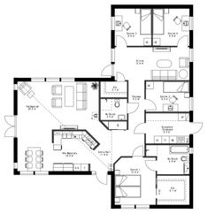 Compact Living, House Layouts, Florida Home, Humble Abode, House Floor Plans, Planer, My House, Architecture Design, Sweet Home