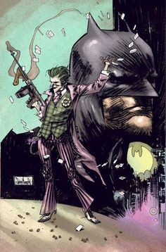 The Joker and Batman by Sean Gordon Murphy