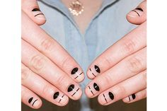 The Cool Negative-Space Nail Art You Can Do in Seconds: Nail Ideas: allure.com