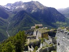 Fenestrelle Fort | The Fortress of Fenestrelle (Italy) is the biggest alpine ...