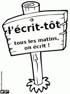 L'écrit-tôt … French Teacher, Teaching French, Teaching Writing, Writing Activities, Teaching Tools, Writing Prompts, Teaching Resources, Educational Activities, Kindergarten Journals